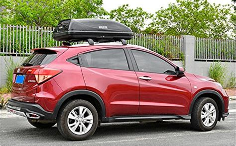 Cross Bar Hitam Jepit Roof Rail Honda Hrv 2002 roof rack cross bar for honda hrv 2015 2016 luggage baggage accessories travel buy in