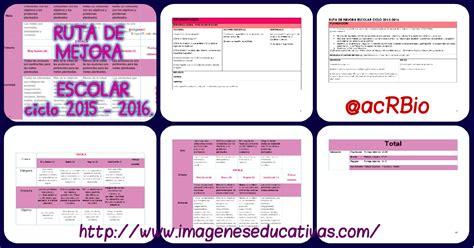 ejemplo de diagnostico de ruta de mejora preescolar completo documento ruta de mejora escolar ciclo 2015