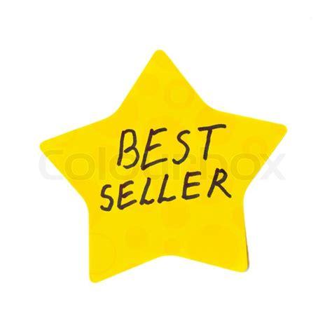 Noela Sesuai Foto Best Seller bestseller stjerne m 230 rkat isoleret p 229 hvid baggrund stock foto colourbox