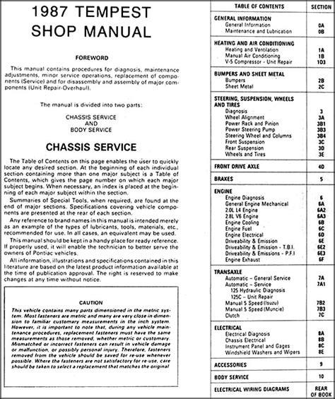 service manual best auto repair manual 1987 pontiac fiero free book repair manuals one owner service manual service manuals schematics 1987 pontiac safari user handbook 1959 pontiac