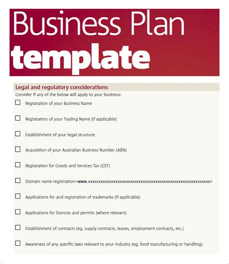 business plan sle pdf template business 28 good
