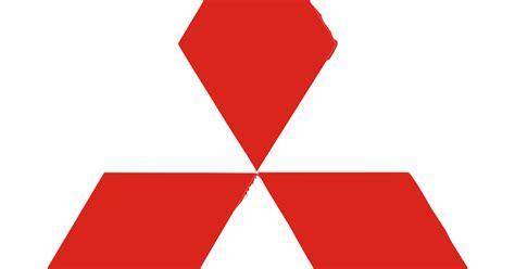 mitsubishi logo png mitsubishi logo vector automaker company format cdr ai