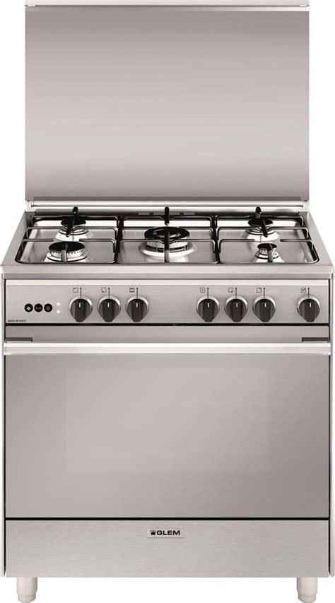 glem gas cucine cucina a gas glem gas u865vi forno a gas ventilato 80x60