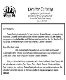 Catering Business Proposal Template Sample Catering Proposal Letter 8 Examples In Pdf Word