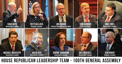 house republicans new illinois house republican leadership for 2017 illinois truth team