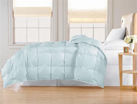 blue down comforter all seasons white down comforter