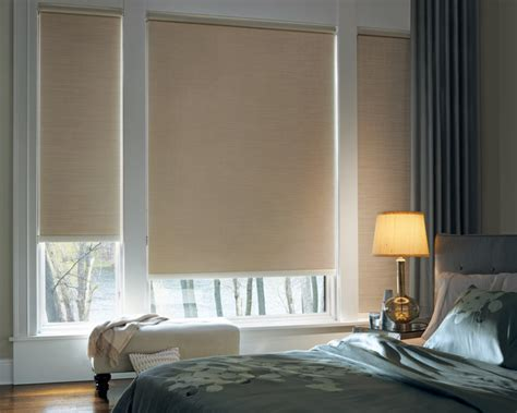 contemporary window blinds designer roller shades with continuous cord loop