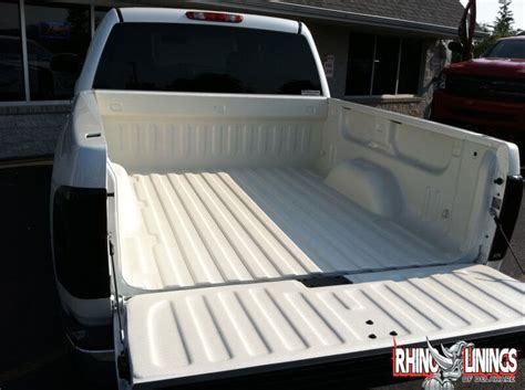 white bed liner white bed liner rhino linings of delaware hard tonneau covers