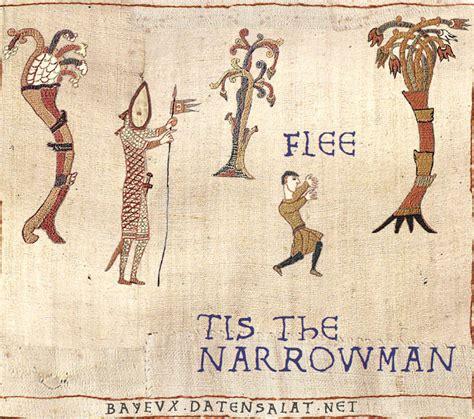 Bayeux Tapestry Meme - narrowman medieval macros bayeux tapestry parodies