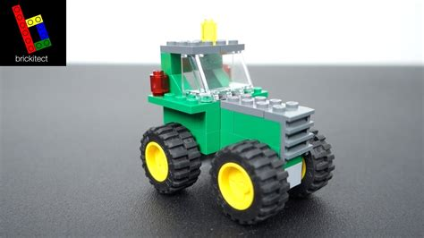 lego tractor tutorial how to build a lego john deere tractor youtube
