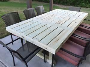 Patio Table Plans Diy Patio Table