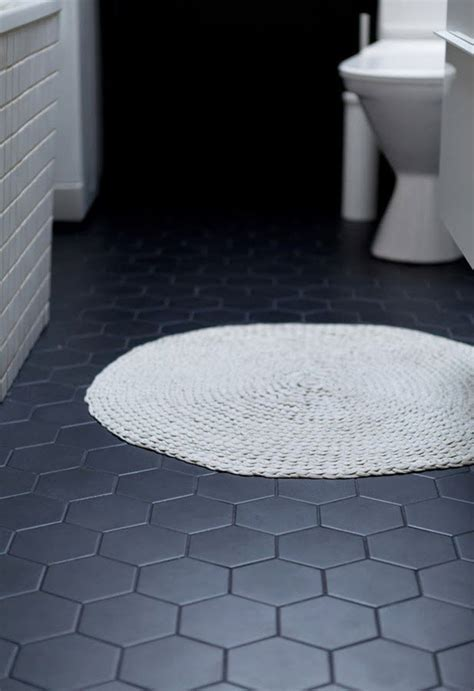 dark tile bathroom floor 34 black bathroom floor tile ideas and pictures