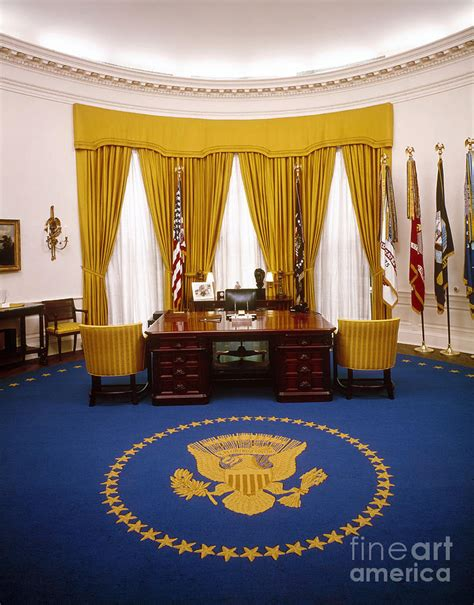 white house oval office by granger
