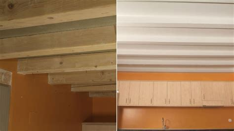 pintar cocina pintar techo de madera en cocina antes y despu 233 s