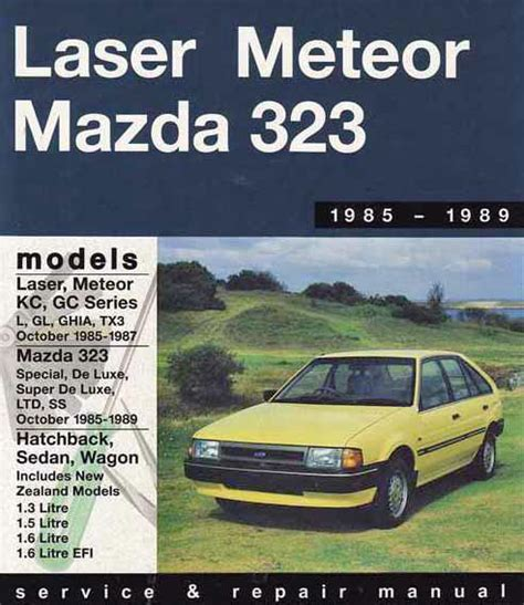 online auto repair manual 1985 ford laser electronic toll collection service manual 1985 ford laser maintenance manual file 1983 1985 ford laser kb gl 5 door