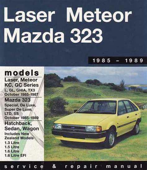service manual 1987 ford laser removal of pcm archive 1987 ford laser 1500 edenvale olx co za mazda 323 fwd ford laser kc meteor gc 1985 1989 0855667486 9780855667481 gregory s