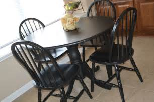 Black Kitchen Table And Chairs Your Birdie New Stuff