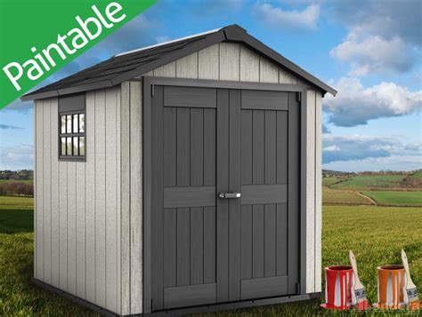 Keter Garden Shed by Keter Oakland Premium Garden Shed 7 X7 2 3mx2 2m Ko757