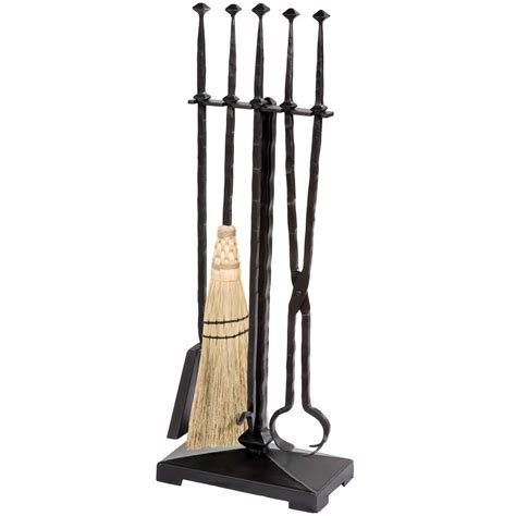 Fireplace Sets Wrought Iron pictured here is the forest hill fireplace tool set with