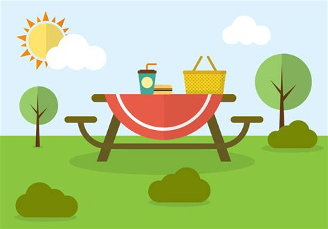 Family Picnic Clipart family picnic in vector free vector stock graphics images
