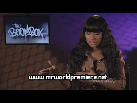 its barbie b tch nicki minaj interview necole bitchie nicki minaj does a new interview naybesa com
