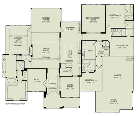 Custom Floor Plans For New Homes by Drees Homes Floor Plans Lovely Channing 125 Drees Homes