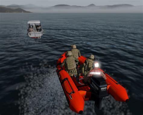zodiac boat mods us coast guard boats rhib and zodiac armed assault