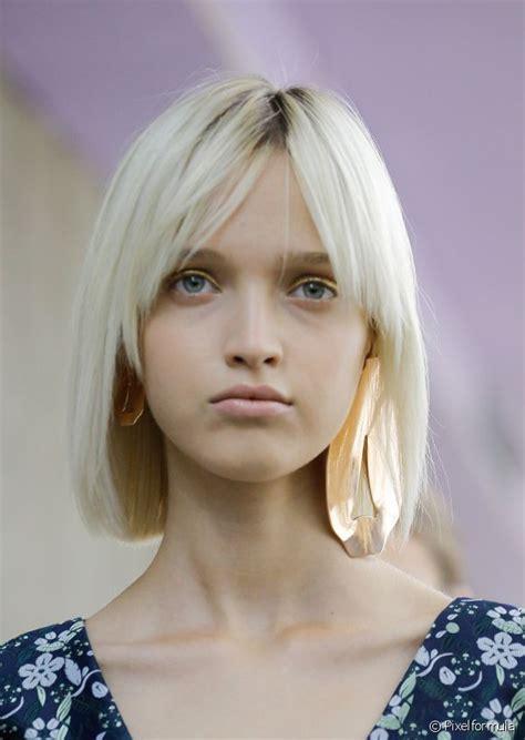 platinum blonde bob ideas hair world magazine