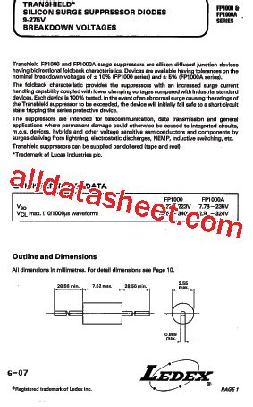 transistor fp1016 fp1016 datasheet pdf list of unclassifed manufacturers