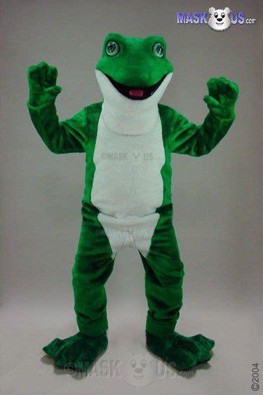 frog deluxe adult size frog mascot costume  maskuscom