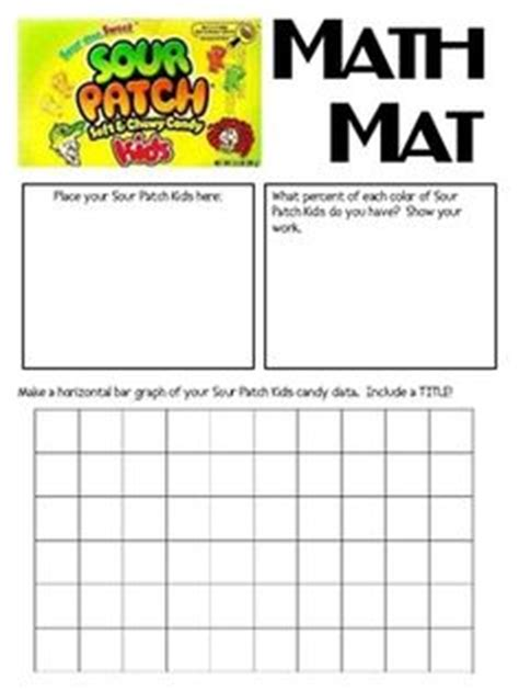 Sour Mat by Math Graphing On Bar Graphs Pattern Blocks