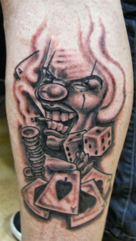 gangsta clown tattoo designs 34 best gangster clown designs images on