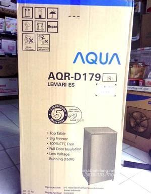 Lemari Es Sanyo Aqua Series harga kulkas aqua 1 pintu aqrd179 lemari es haier asli