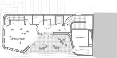 Floor Plan View gallery of the victor gelez community centre dumont