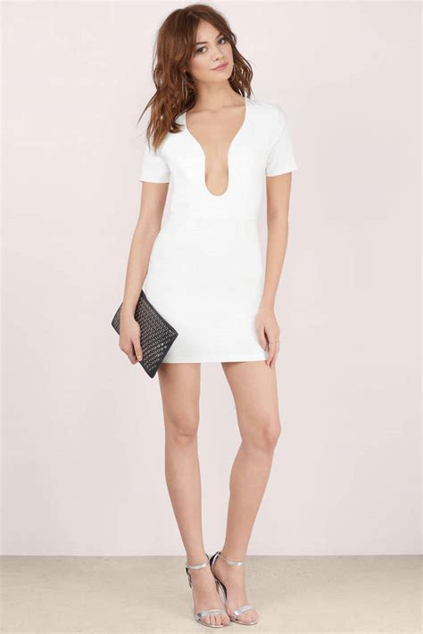 Id 428 Backless Dress dip low backless bodycon dress 12 00 tobi