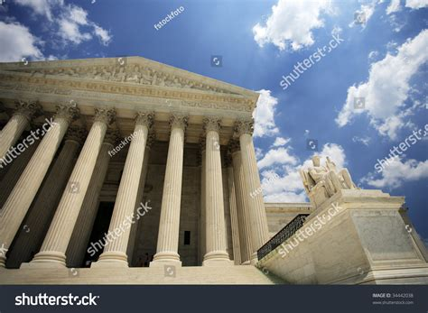 The United States Supreme Court Is Accessible To The by The United States Supreme Court Building Washington Dc