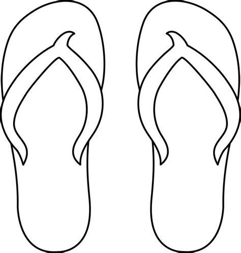 template of flip flops 7 best images of printable flip flop free printable flip flop patterns flip flop coloring