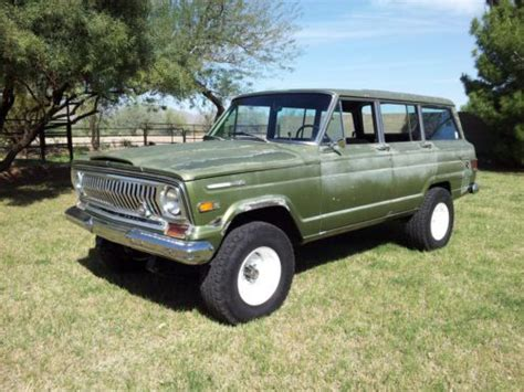 kaiser jeep wagoneer buy new 1969 jeep wagoneer kaiser era rare series 1 cj