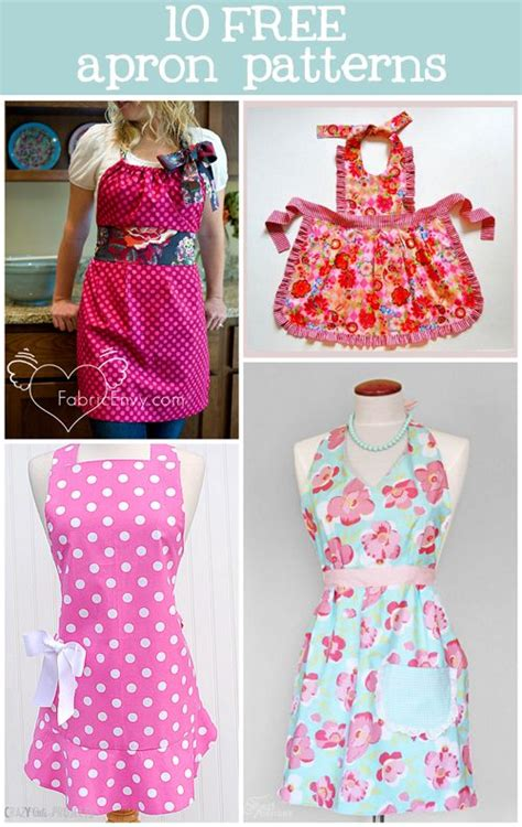 sewing pattern ideas free 10 free apron patterns sewing tutorials inspiration