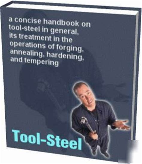 Dryer Classic Black Smith tool steel blacksmith handbook guide welding hardening