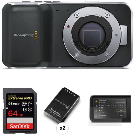 blackmagic design pocket cinema blackmagic design pocket cinema kit b h photo