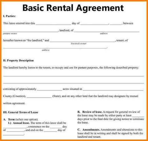 free printable delaware lease agreement 7 simple rental agreement template free invoice letter