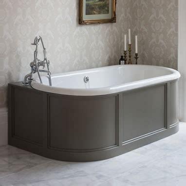 burlington bathroom reviews burlington london 1800mm back to wall bath curved