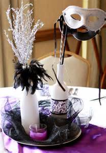 masquerade table centerpiece ideas formal masquerade table decorations photograph prom5