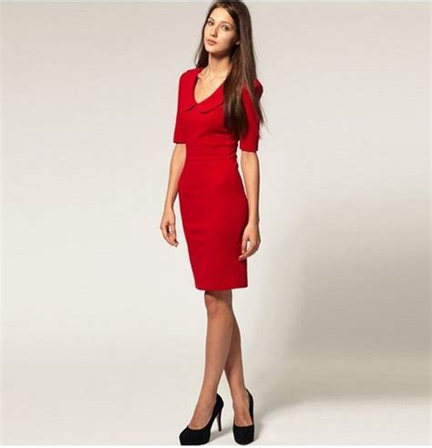 Dress Merah dress import merah cantik natal model terbaru jual