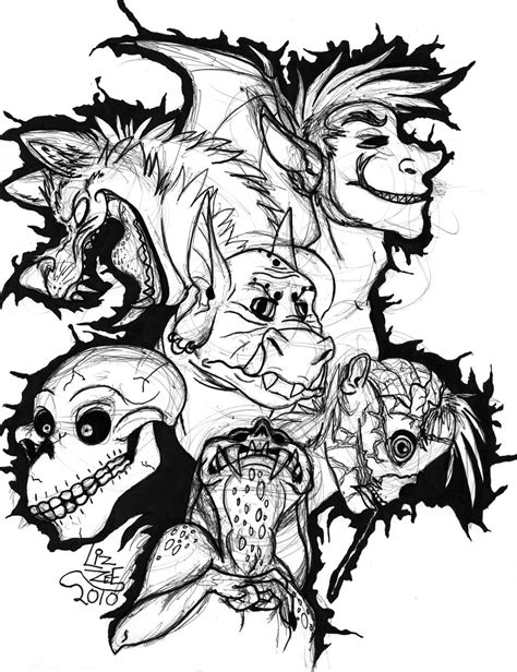 super scary halloween coloring pages dash of panda scary monsters and super creeps