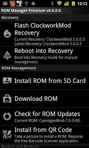rom manager apk rom manager android app