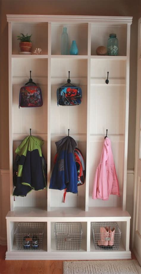 backpack storage ideas backpack storage the two and entry ways on pinterest
