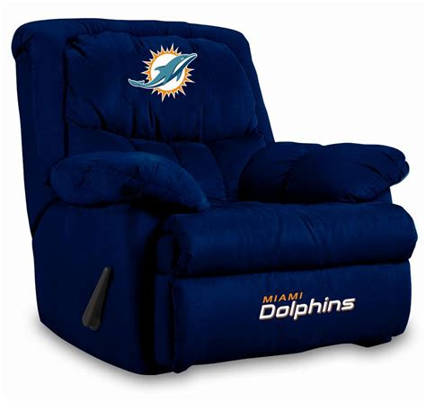 miami dolphins recliner miami dolphins home team recliner