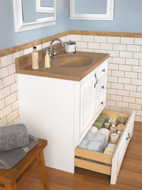 Bathroom Vanity With Bottom Drawer Danville White Bottom Drawer Vanity Available Widths 30 Inch 36 Inch And 48 Inch American